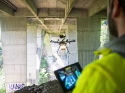 Brückeninspektion SPECTAIR Drohnenpilot