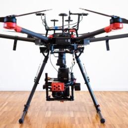 Drohne Dach Außeninspektion M600