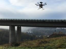 Brückeninspektion Eisertal Drohnenflug